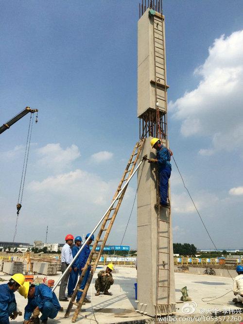 【第e现场】预制混凝土装配式框架结构吊装