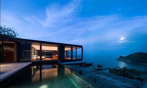 预制空间 > 泰国普吉岛的钢木模块化度假酒店  住宅产业化民间智库群