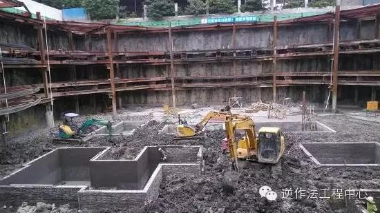 深基坑支护的装配式预应力鱼腹梁钢结构支撑技术