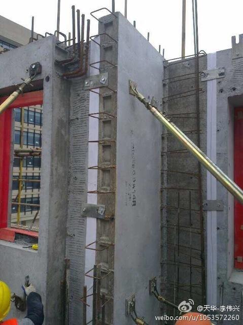 上海天华预制装配式高层住宅安装现场