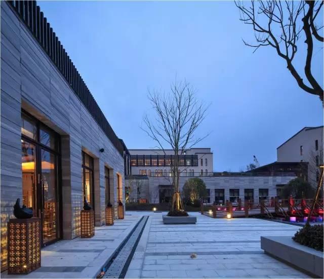 新中式建筑连廊设计