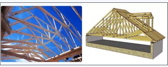 结构建筑专家和中国开发商建造商合作开发的在上海,青岛等地的木桁架
