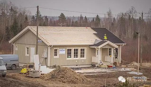 国外木结构装配式房屋实践