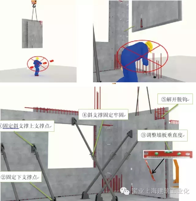 附着式塔吊结构模型