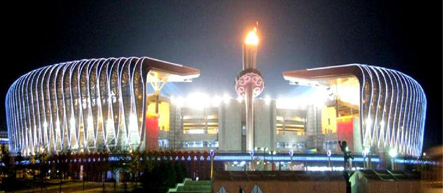 济南奥体中心体育场主火炬塔