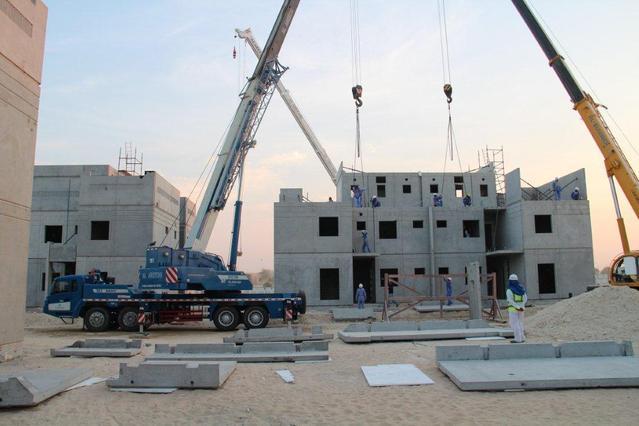 三一装配式建筑施工案例