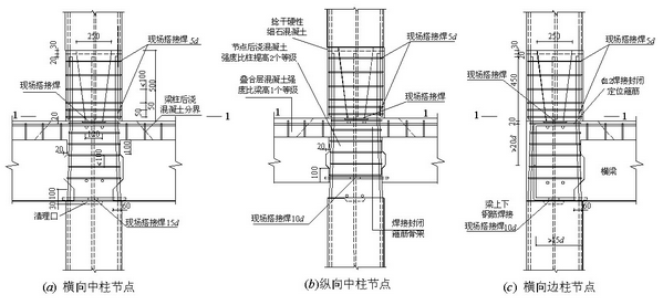 木结构 > 装配式混凝土叠合受弯构件整浇式节点应有