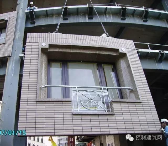适用于钢结构建筑之pc外墙工艺(下)