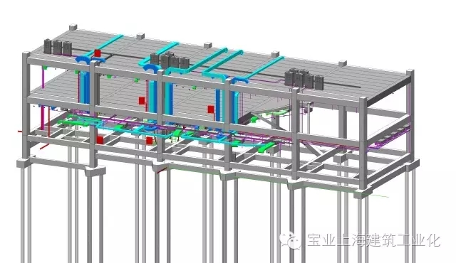 工厂电路气管安装