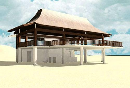 木条式建筑风格是一种纯美洲民居风格,主要特点是水平式、高清图片