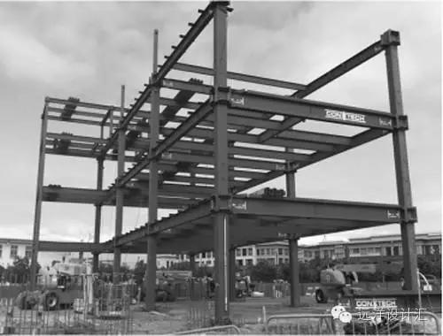 结构体系,采用方钢管混凝土柱及宽翼缘h型钢截面梁