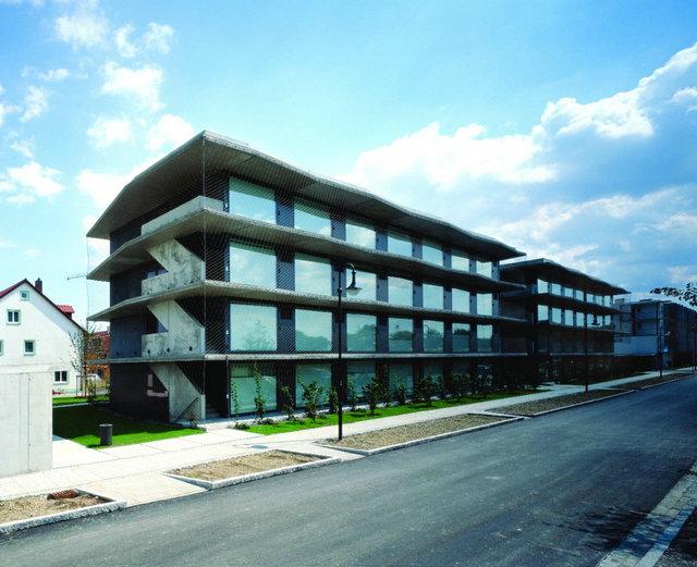 德国慕尼黑工业大学学生宿舍外观以简约的风格和设计
