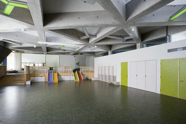 幼儿园侧墙装饰图片