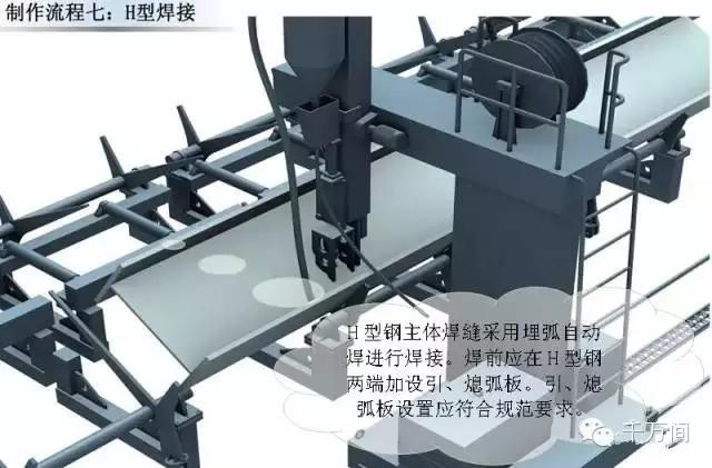 超高清钢结构三维加工图