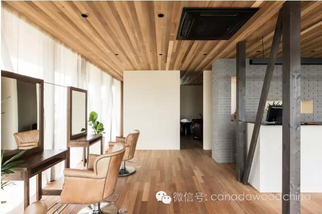 木材和玻璃幕墙,天生一对完美搭配